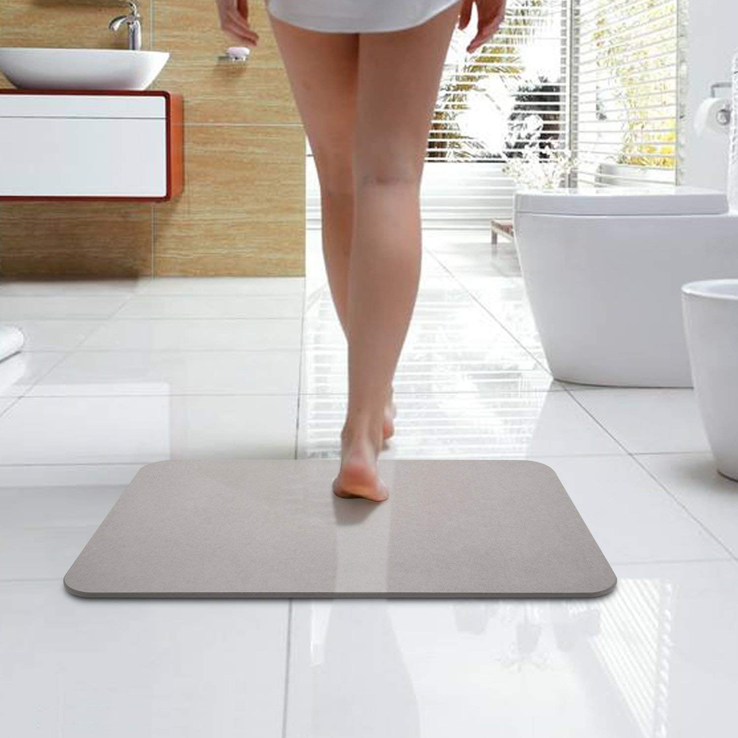 Mirage Bazal Bath Shower Mat Diatomaceous Earth Bath Mat