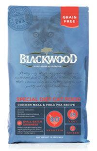 WDJ推薦 Blackwood 柏萊富 特調無穀全齡貓配方(雞肉+豌豆) 4LB/4磅