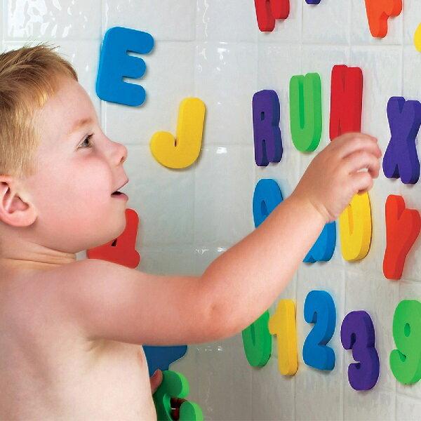 美國【munchkin】字母數字洗澡玩具學習組(3y以上適用)