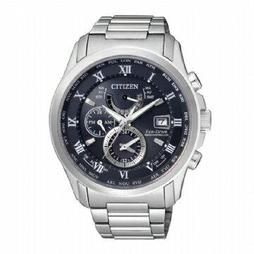 CITIZEN 亞洲限定版電波時計光動能錶/AT9080-57L