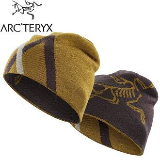 Arcteryx 始祖鳥 保暖帽/登山毛帽/滑雪 Arc Mountain 雙面保暖帽16442 原木棕紅/半人馬褐 Arc\