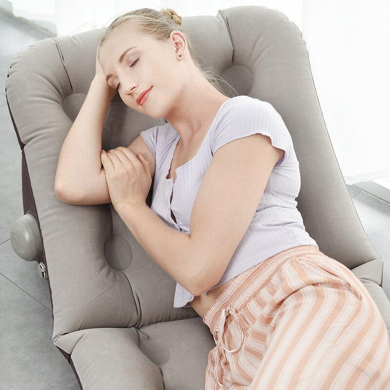自動按壓充氣墊戶外野營氣墊防潮墊便攜睡墊電動充氣