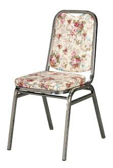 【 IS空間美學 】猛士餐椅-玫瑰花款(兩色可選)