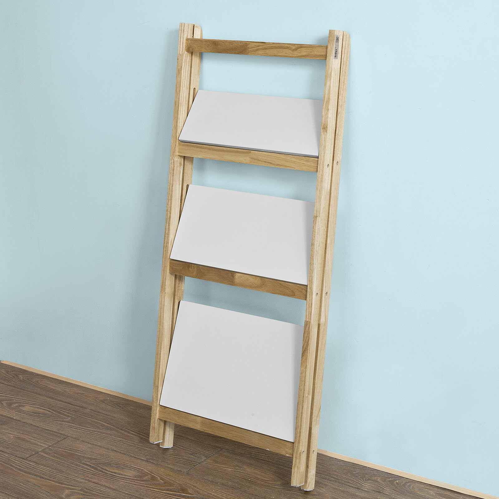Haotiangroup: Haotian Modern ladder bookcase made of wood, book ...