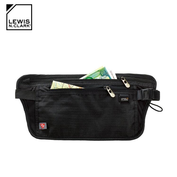 Lewis N. Clark RFID屏蔽腰包 1268  /  城市綠洲 (防盜錄、貼身腰包、旅遊配件、美國品牌) 1