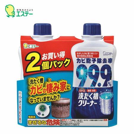 日本 愛詩庭 ST 雞仔牌 洗衣槽專用清潔劑 2入組 500g*2 洗衣機除菌去污劑 洗衣槽清潔 抗菌 清潔【B062996】