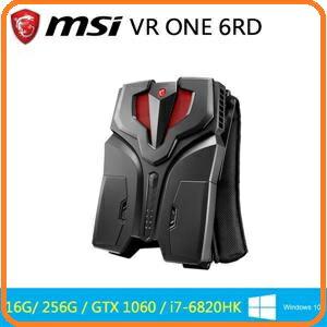 微星 MSI VR ONE 6RD-011TW i7-6820HK GTX1060 WIN10 電競背包電腦