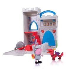 《 Peppa Pig 》粉紅豬小妹小城堡遊戲組 - 騎士喬治&龍