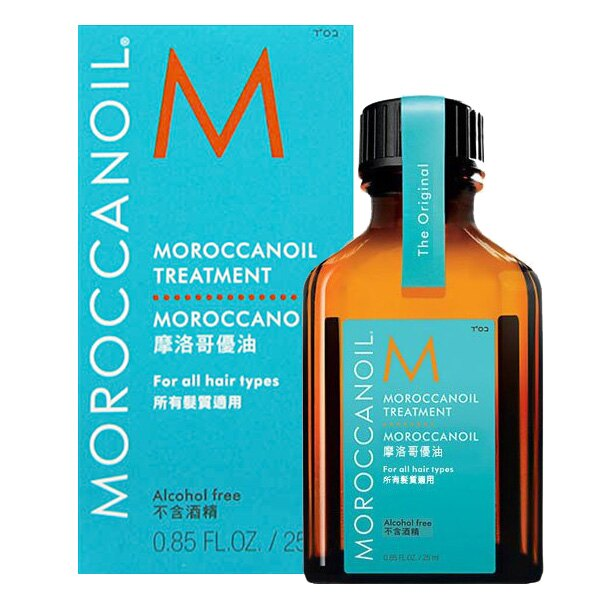 MOROCCANOIL 摩洛哥優油 25ml ^(無壓頭^) 香氛蠟燭40g