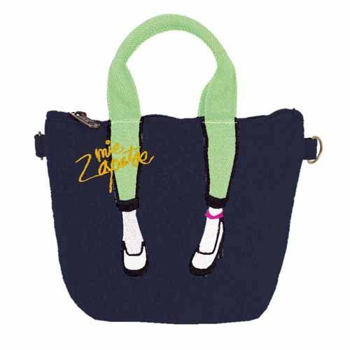 【真愛日本】16090700014    日本Mis Zapatos 數位萬用美腿包-靛藍   高跟鞋包 日本爆紅熱銷款 預購