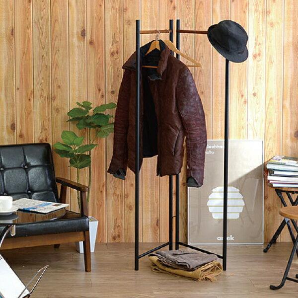 日系屏風摺疊吊衣架-2色