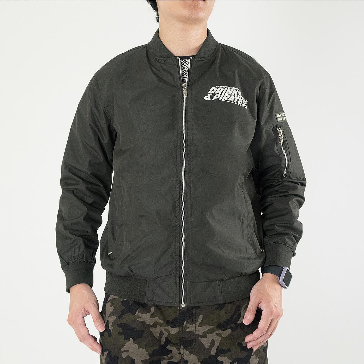 MA-1飛行外套 飛行夾克 空軍外套 防風外套 潮流時尚休閒外套 立領外套 黑色外套 MA-1 Flight Jacket Men's Jackets Casual Jackets (321-889-01)軍綠色、(321-889-02)黑色 M L XL (胸圍114~124公分  45~49英吋) 男 [實體店面保障] sun-e 5
