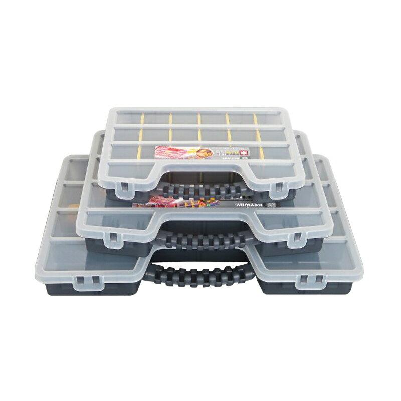 聯府特大哈佛手提工具箱6L工具盒螺絲分類盒零件收納箱TL-89-大廚師百貨