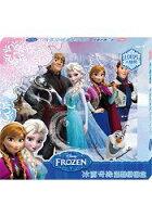 冰雪奇緣 溫馨拼圖盒(3入)