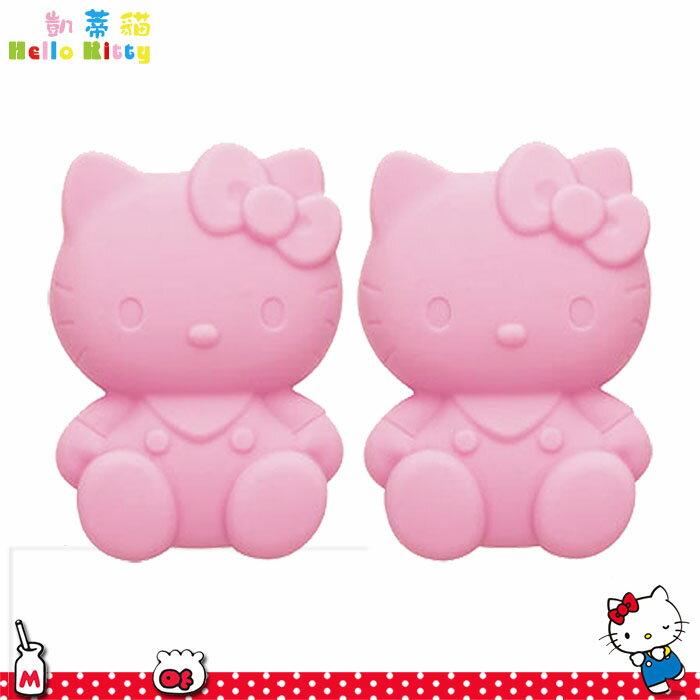大田倉 日本進口正版三麗鷗  Hello Kitty 凱蒂貓  矽膠 筷架組 粉色 筷子  171475