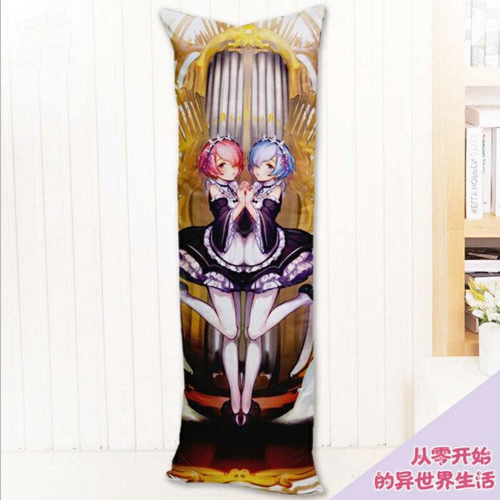 tangyizi輕鬆購【DS112】COSPLAY動漫周邊從零開始雙面抱枕雙層可脫抱枕
