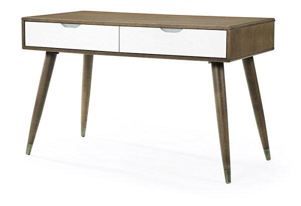 【尚品傢俱】HY-A506-04阿爾文4尺雙色書桌