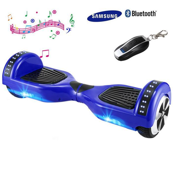 Bluetooth 6.5inch 2 Wheels Electric Self-Balancing Smart Drifting Scooter 0