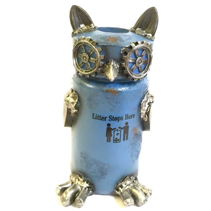 日本高山 擺飾 擬動物 工業風格 擺飾品 貓頭鷹 日本直送 日本設計 - 限時優惠好康折扣