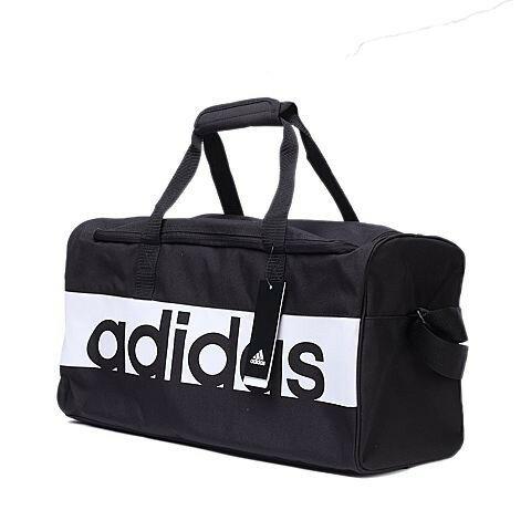 【毒】ADIDAS TRAINING PERFORMANCE 黑白 球袋 側背包 旅行袋 手提包 S99954