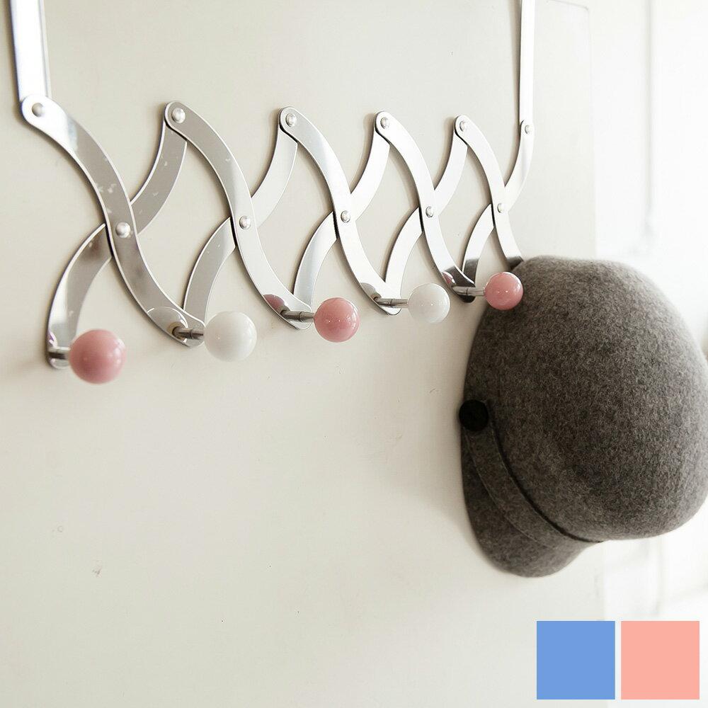 掛勾  衣帽架 不鏽鋼伸縮門後鉤 兩色  MIT 製 完美主義~H0013~