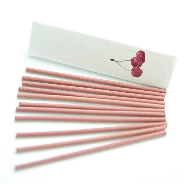 【ease 】 快樂櫻桃日式線香 (10枝/盒)