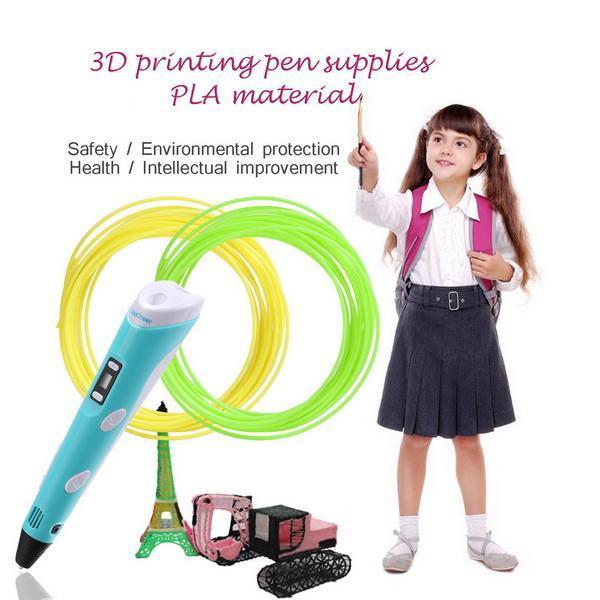 20pcs 1.75mm 10m Printing Filament PLA Modeling For 3D Printer Pen Drawing 2