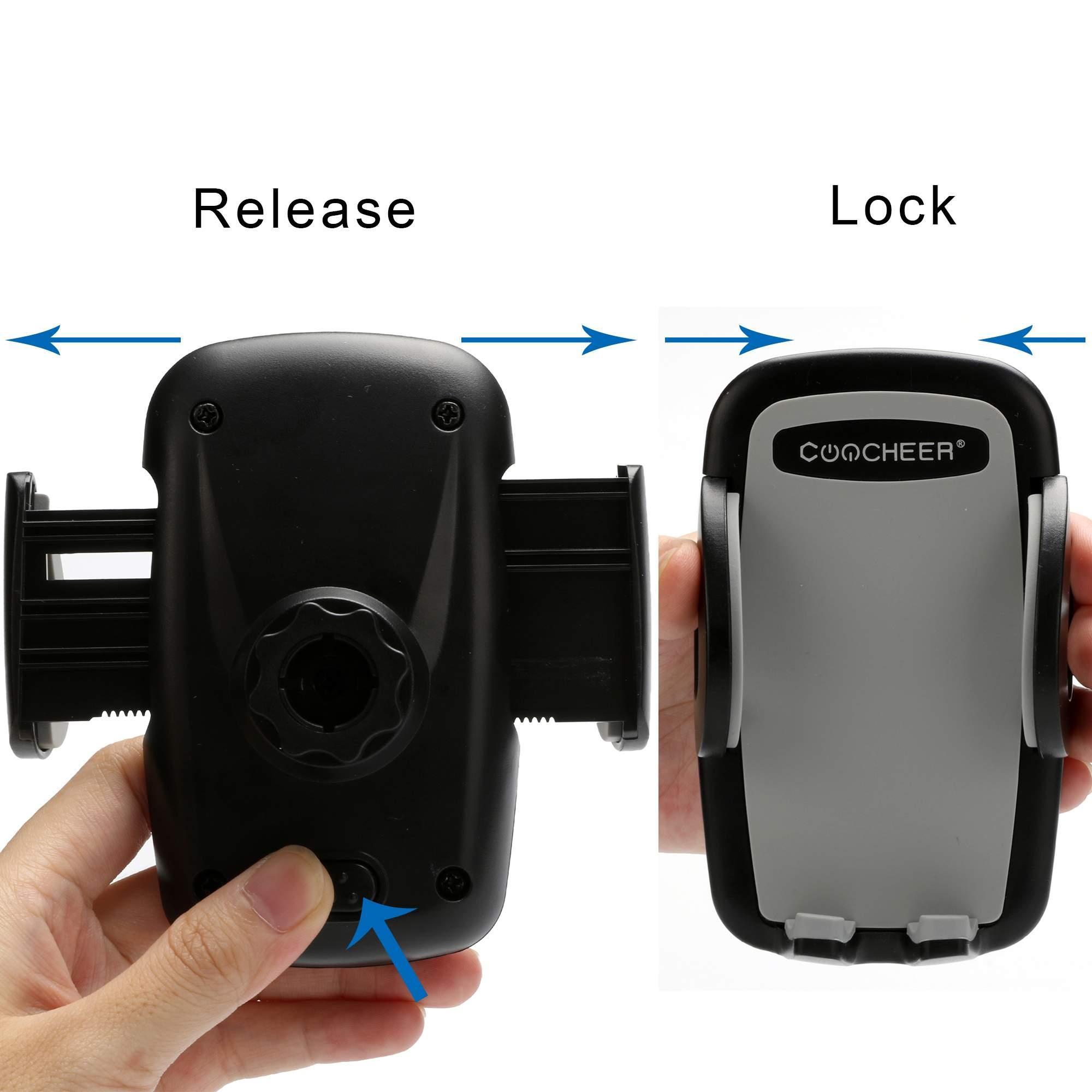 Universal Air Vent Mount Car Smartphone Holder 5