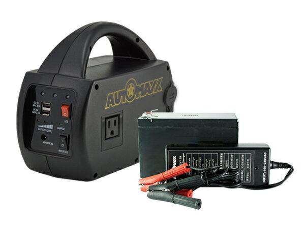 AUTOMAXX★超值組合★【UP-5HA】DCAC專業級手提式行動電源+【UP-5HB】補充配件