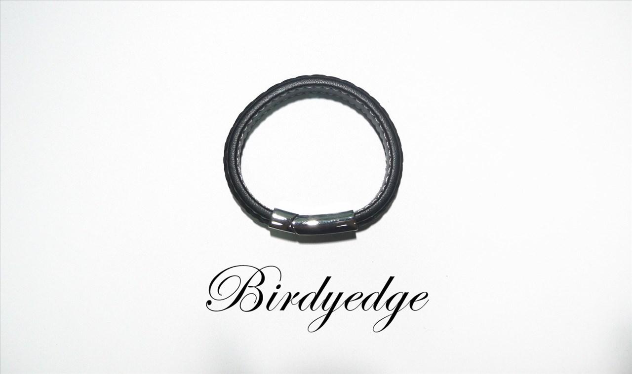 BIRDYEDGE 真皮 非 BV 編織 皮革 手環 手鐲 配件 男女