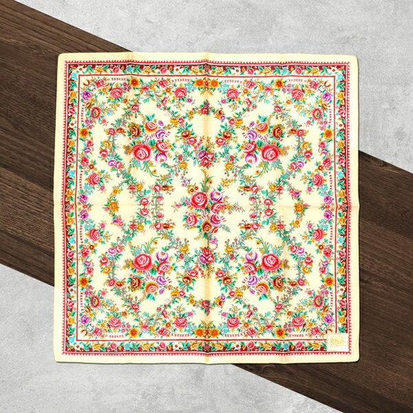 HYI 家居生活館:日本集采苑-RoseSeries薔薇シリーズ手帕方巾頭巾(米)《日本設計製造》《全館免運費》