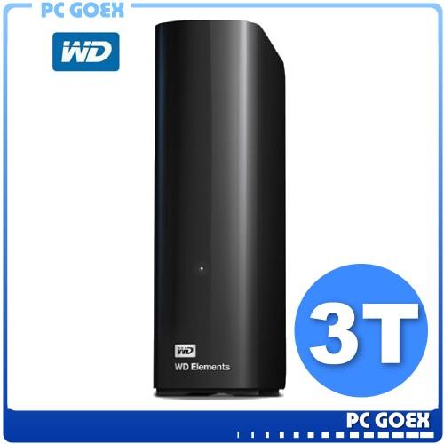 WD Elements 3TB / 3T USB3.0 3.5吋 外接硬碟 ☆pcgoex軒揚☆