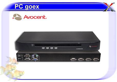 五角4埠雙介面 電子式電腦切換器/機架型/AVOCENT 4SV1000
