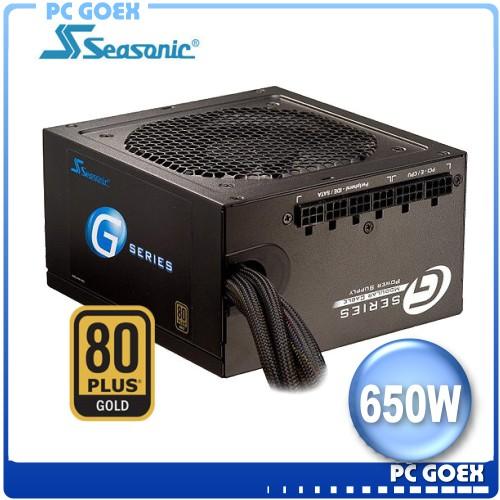 海韻 Seasonic G-650 G650W 模組化 電源供應器 80+ 金牌 ☆pcgoex 軒揚☆