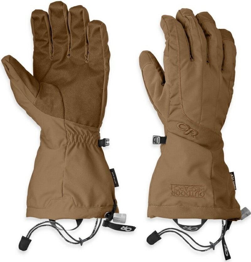 Outdoor Research 雙層防風防水保暖手套/二合一滑雪手套/Gore-Tex Arete 男款 243358 0014棕色