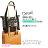 〔小禮堂〕史努比 可折疊側背旅行袋《黑.漫畫》可掛於行李箱桿上 3