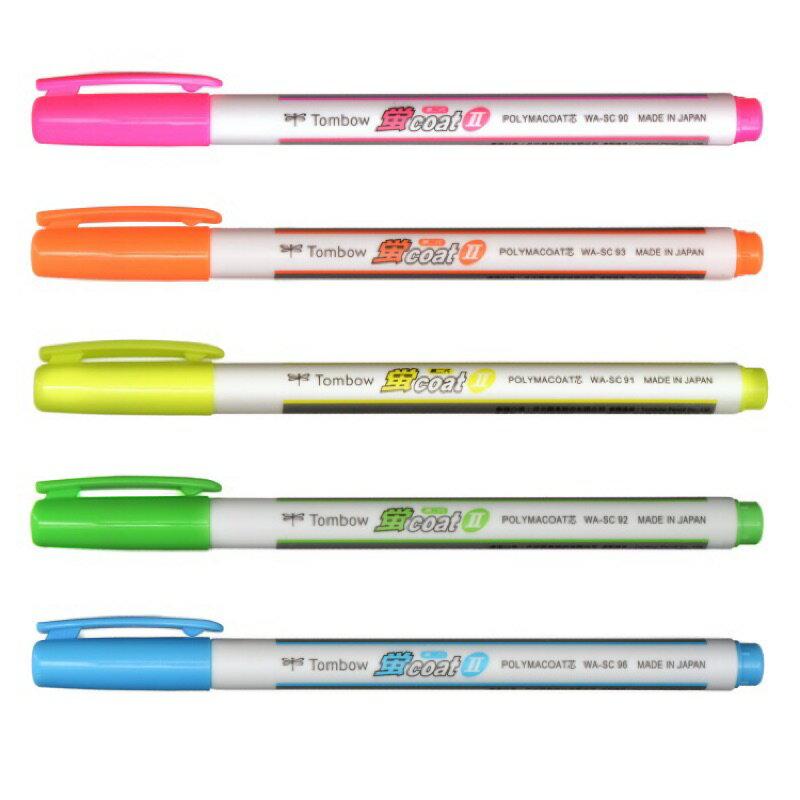 日本 TOMBOW 蜻蜓牌 WASC 萤光笔 /支