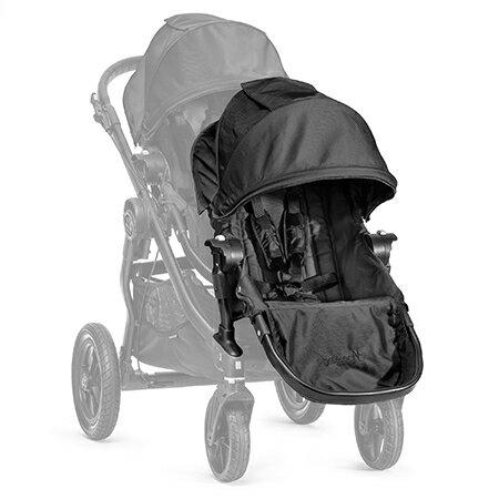 【淘氣寶寶】【黑框】2016年新款 Baby Jogger City Select 推車座椅(Second Seat)雙人第二座椅【公司貨】