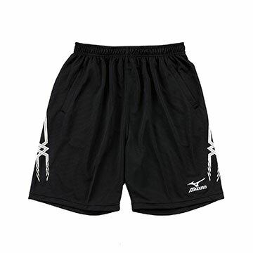 V2TB7A0609 (黑)高透氣吸汗快乾 男長版排球褲 【美津濃MIZUNO】