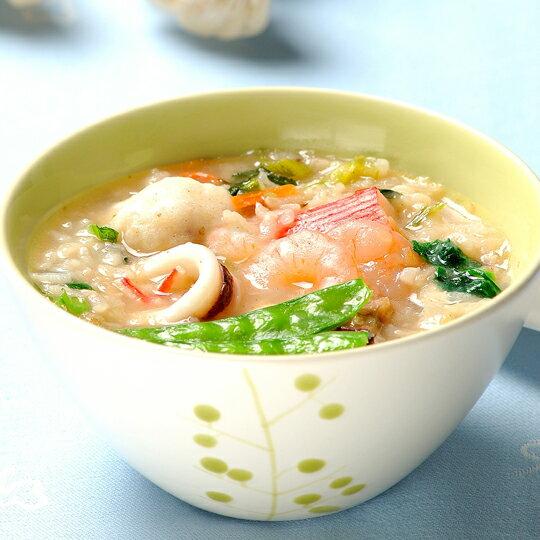 【明華食品】組合廣式粥品 (台式鹹粥、皮蛋瘦肉粥、海鮮粥)