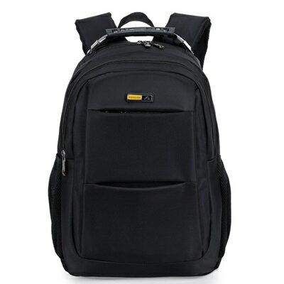 後背包純色電腦包-旅行出差大容量商務男雙肩包4色73ru19【獨家進口】【米蘭精品】
