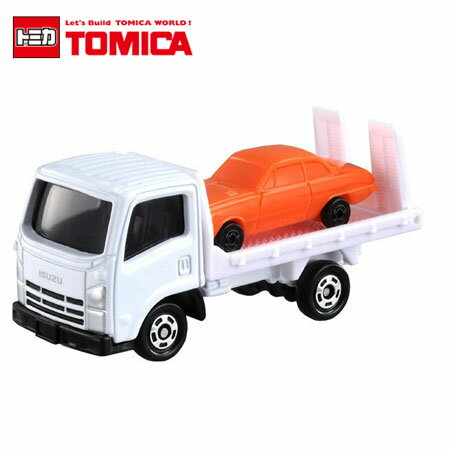 日貨 TOMICA No.60 ISUZU ELF VEHICLE TRANSPORTER