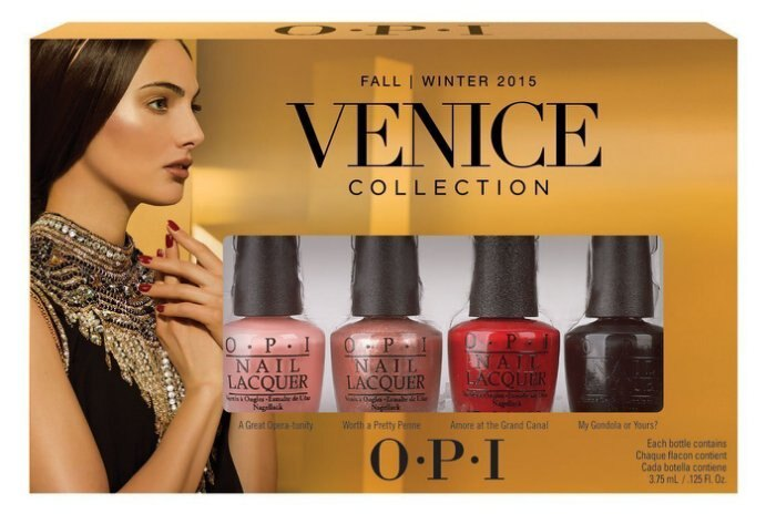 OPI Venice 威尼斯系列- 威尼斯迷你組 4入組 3.75ml*4色 美國進口【彤彤小舖】