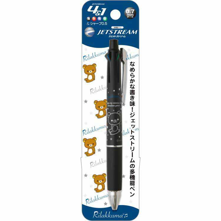 UNI三菱JETSTREAM拉拉熊4+1多機能筆0.7坐姿熊限定款