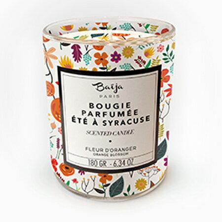 巴黎百嘉 豔日橙花 香氛蠟燭 180g 大豆蠟 純植物蠟 可當按摩油 法國製造 Baija Paris 香鼻子選品 Les nez