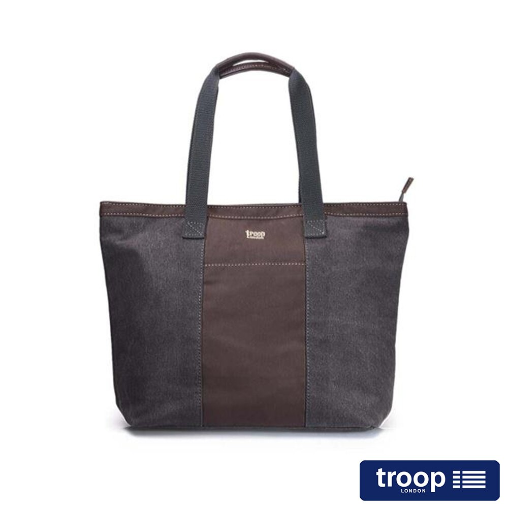 【TROOP】經典品格CLASSIC肩背包/TRP0368BK