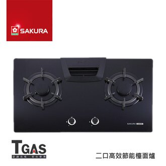 SAKURA櫻花 二口高效節能檯面爐【G-2825G】含基本安裝