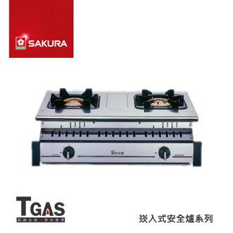 SAKURA櫻花 全白鐵崁入爐【G-6320K】含基本安裝