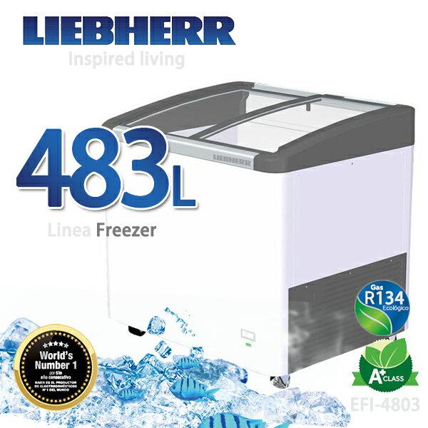 LIEBHERR德國利勃 483L弧形玻璃冷凍櫃~EFI~4803~