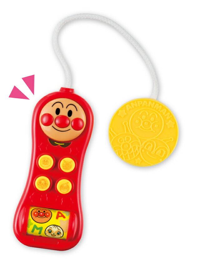 【真愛日本】18012500024 發聲掌上電話-麵包超人 電視卡通 麵包超人 有聲 電話玩具 音樂玩具 兒童玩具